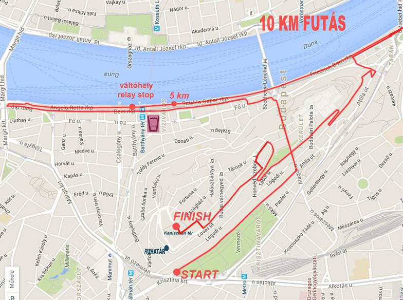10km térkép változott