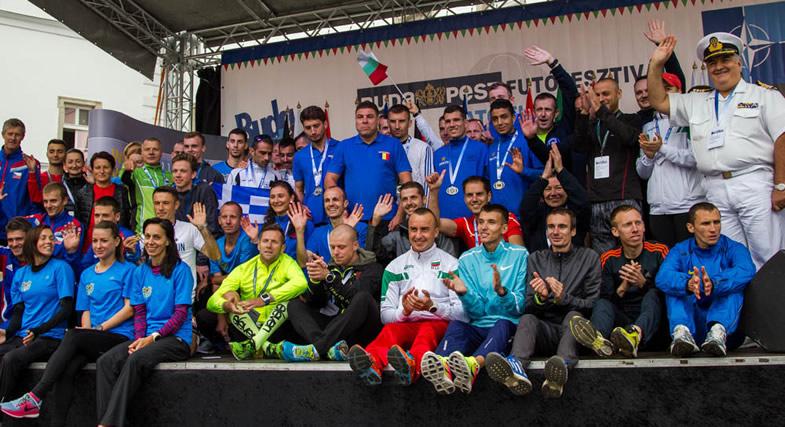 """""""NATO Run"""" in Budapest, Hungary"""