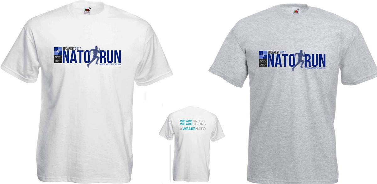 A NATO Futás idei pólói!