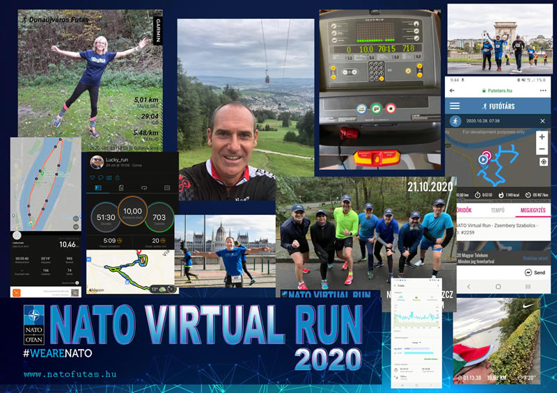 Budapest – NATO VIRTUAL RUN 2020