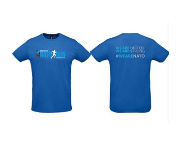 A NATO Futás idei pólója!