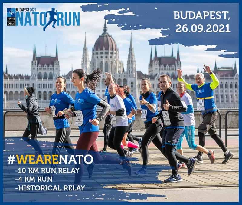 2021 NATO futás - plakát