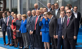 Secretary General welcomes NATO leaders to the Brussels Summit